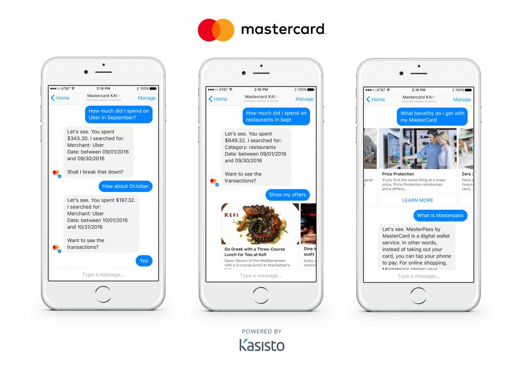 Chatbot Mastercard